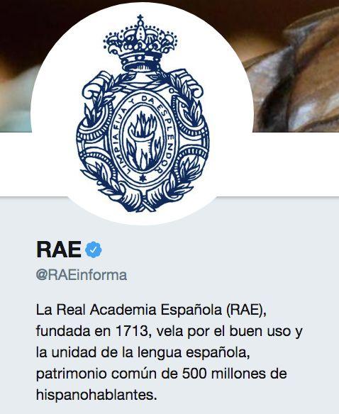 El mensaje de la RAE que ha desatado un incendio en Twitter: