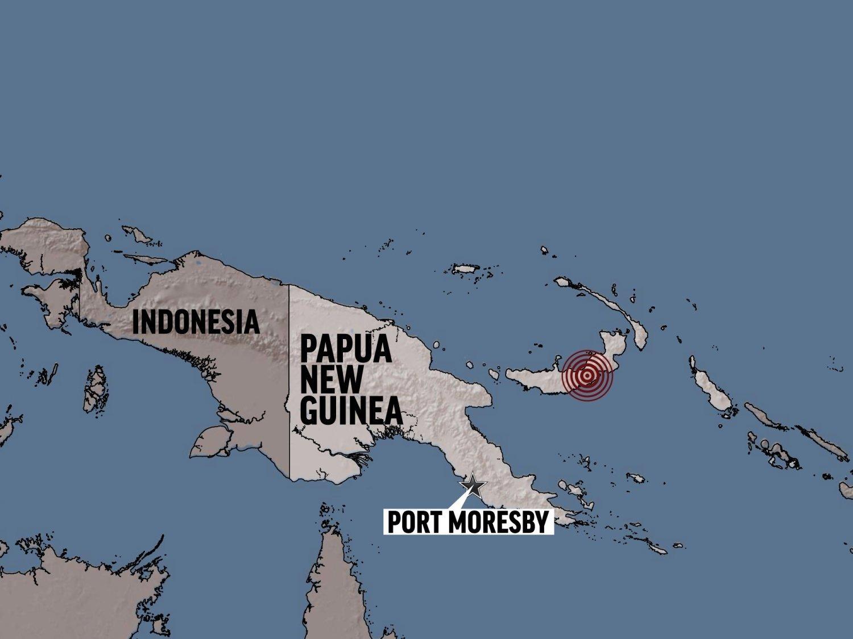 Ισχυρός σεισμός 6,4 στην Παπούα Νέα