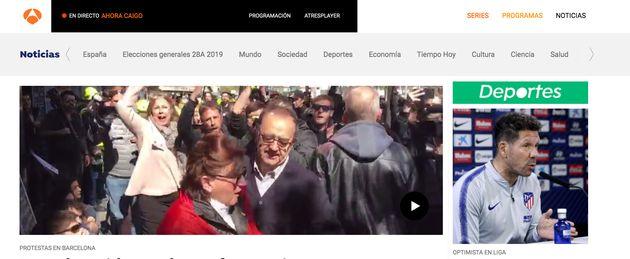 Un joven de Sevilla remueve conciencias con su mensaje a Antena 3 sobre las