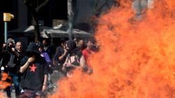 Al menos siete detenidos tras los incidentes en la manifestación de Vox en