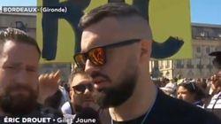 Éric Drouet annonce la poursuite du mouvement des gilets jaunes en