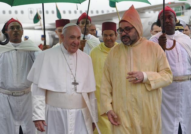 Arrivée au Maroc du pape François pour une visite officielle de deux jours dans le