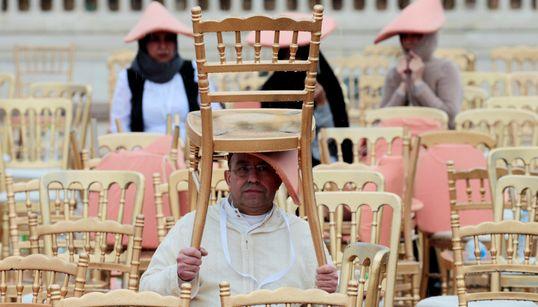 Météo oblige, on compose et on ruse en attendant le pape François