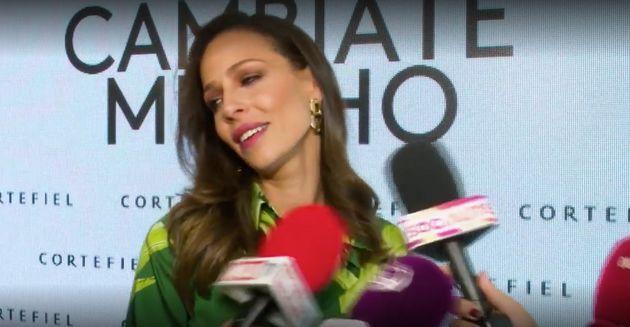 La bronca de Eva González ('La Voz') con una reportera: