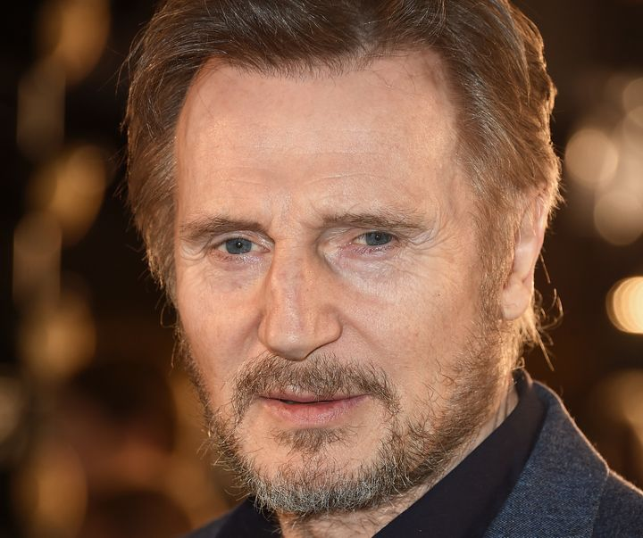Liam Neeson at the UK Premiere of 'The White Crow.""