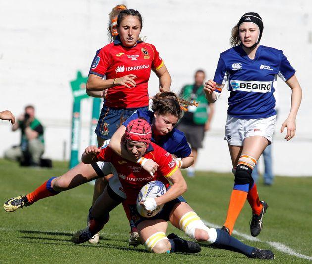 La selección española femenina de rugby se proclama campeona de Europa con récord de asistencia en