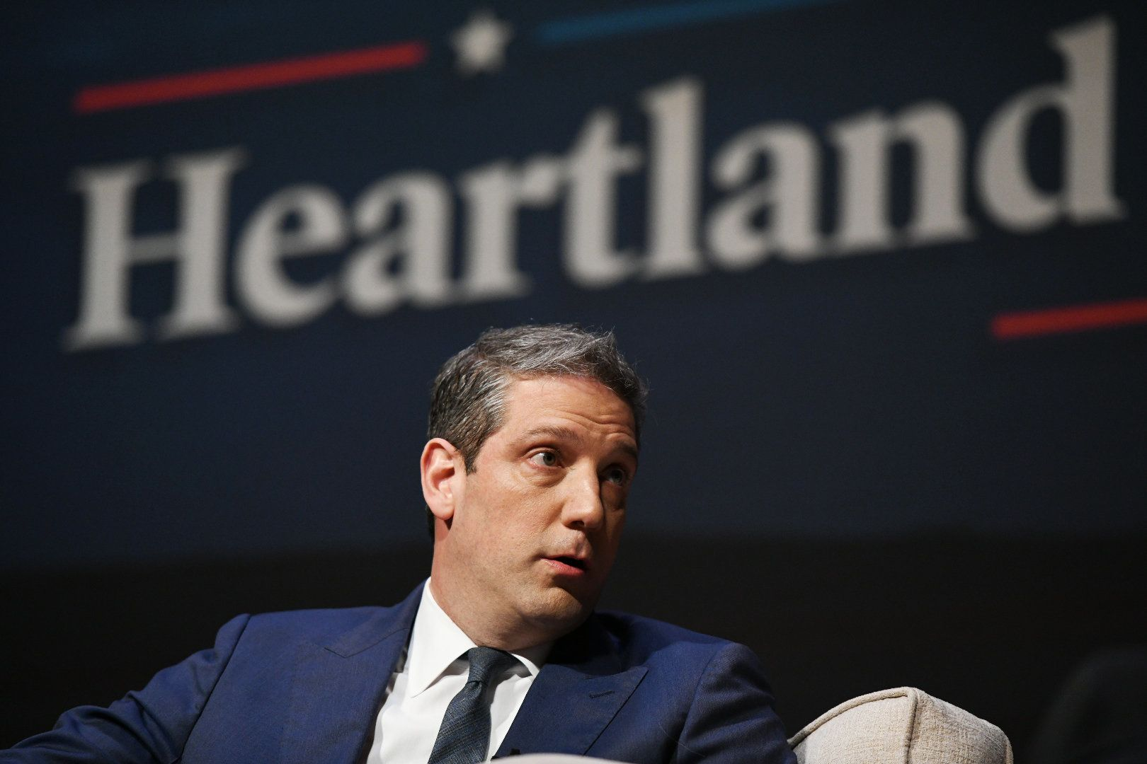 Tim Ryan participates in the Heartland Forum.