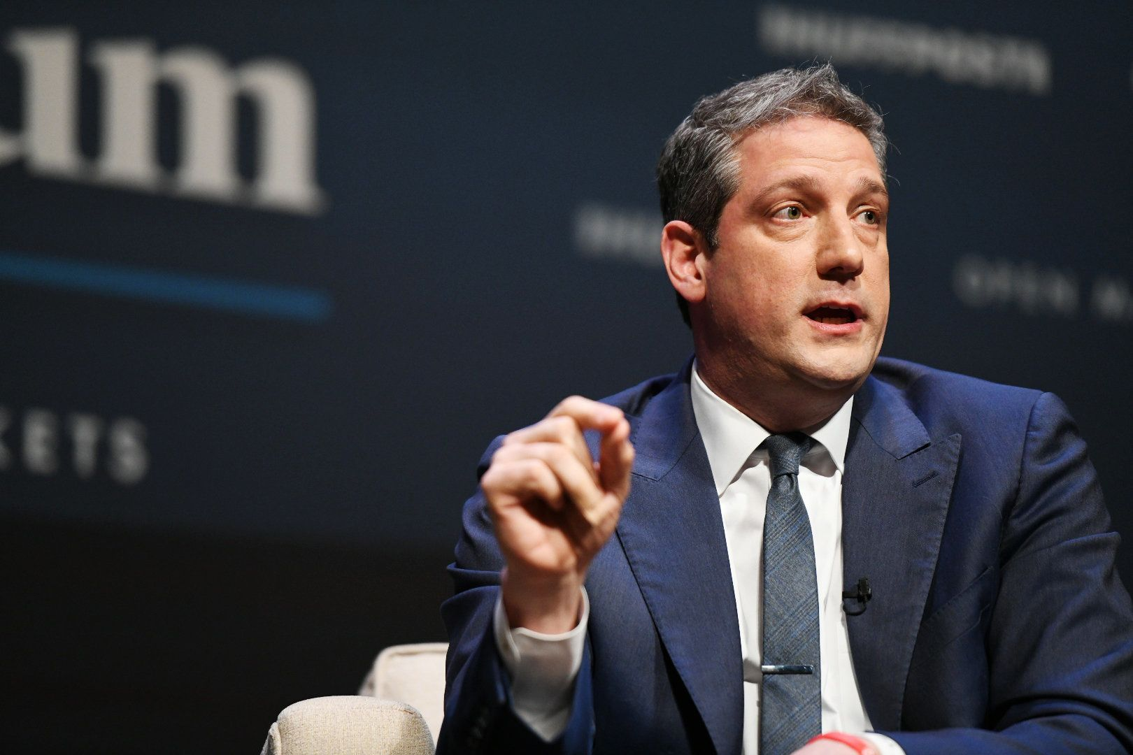 Tim Ryan takes part in the Heartland Forum.