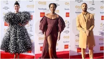 Tracee Ellis Ross, Lupita Nyong'o, Michael B. Jordan at 50th NAACP Image Awards (Getty Images)