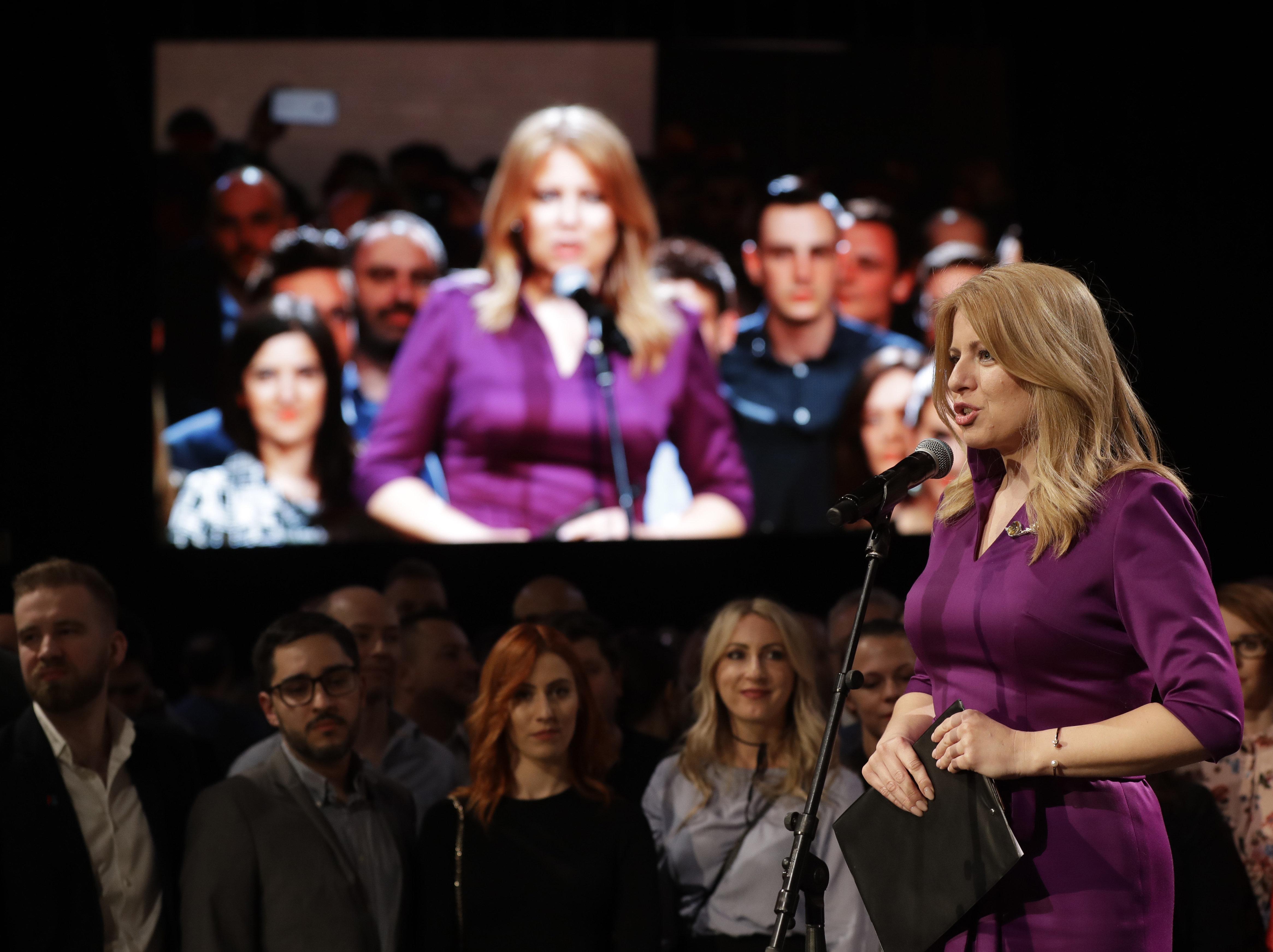 Σλοβακία: Μια γυναίκα στην προεδρία της χώρας για πρώτη
