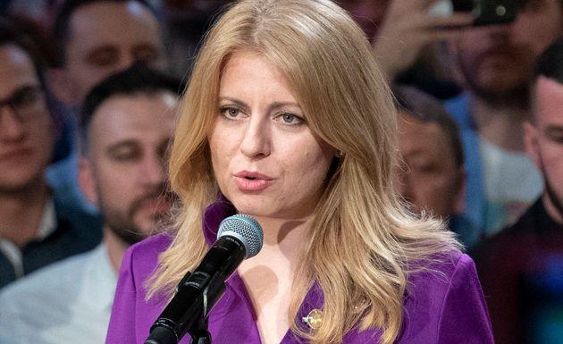 슬로바키아에서 최초의 여성 대통령이