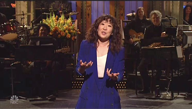 Sandra Oh citizen snl