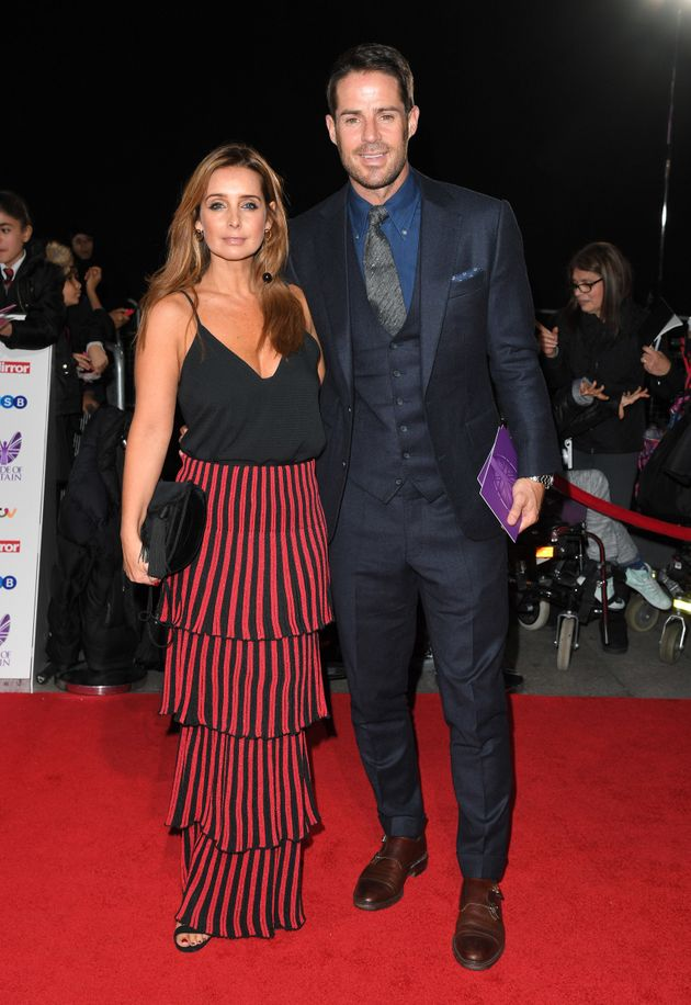 Louise and Jamie at the Pride Of Britain awards in
