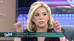La bronca de Carmen Borrego a sus compañeros por hablar de su vagina en