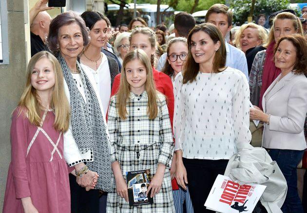 Un año de la bronca entre Letizia y Sofía: ¿cómo están