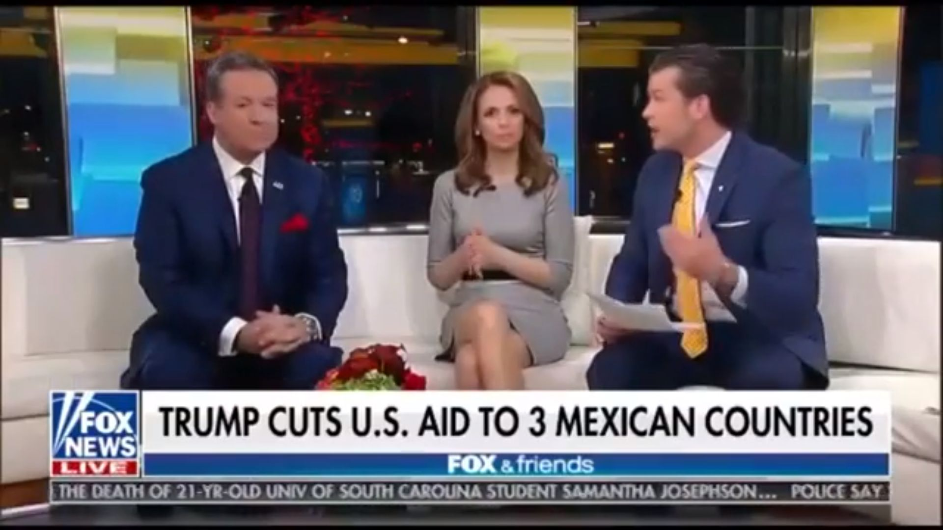 Fox News airs 'Mexican countries' graphic