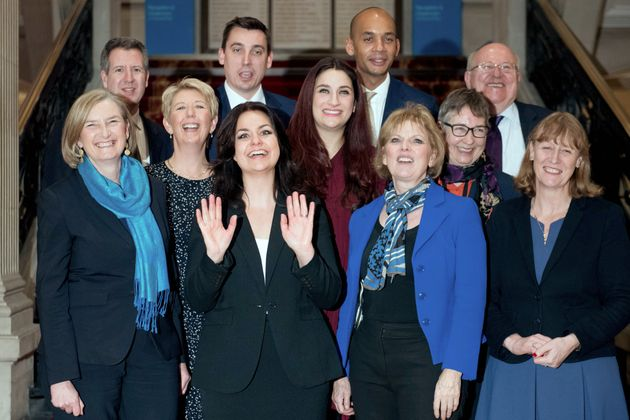 The Independent Group of MPs, which has registered as the 'Change UK' party for any Euro
