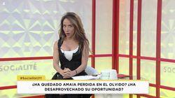 El lapsus de María Patiño en 'Socialité' al hablar de la carrera de