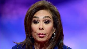 Judge Jeanine Pirro of Fox News speaks at the Conservative Political Action Conference (CPAC) at the Gaylord National Resort and Convention Center in National Harbor, Maryland on Saturday, March 2, 2019. (Photo by Ron Sachs / CNP/Sipa USA)