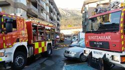 Aparece el cadáver calcinado de una mujer en un parking incendiado este sábado en