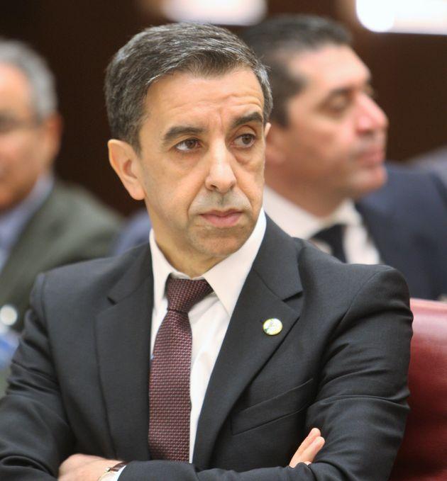 Algérie: l'homme d'affaires Ali Haddad arrêté (Photo prise le 6 mars