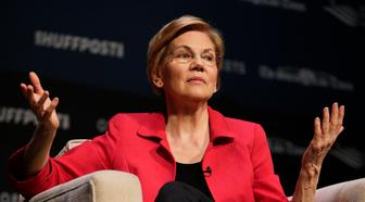 Democratic presidential candidate Sen. Elizabeth Warren, D-Mass., speaks at the Heartland Forum held on the campus of Buena Vista University in Storm Lake, Iowa, Saturday, March 30, 2019. (AP Photo/Nati Harnik)