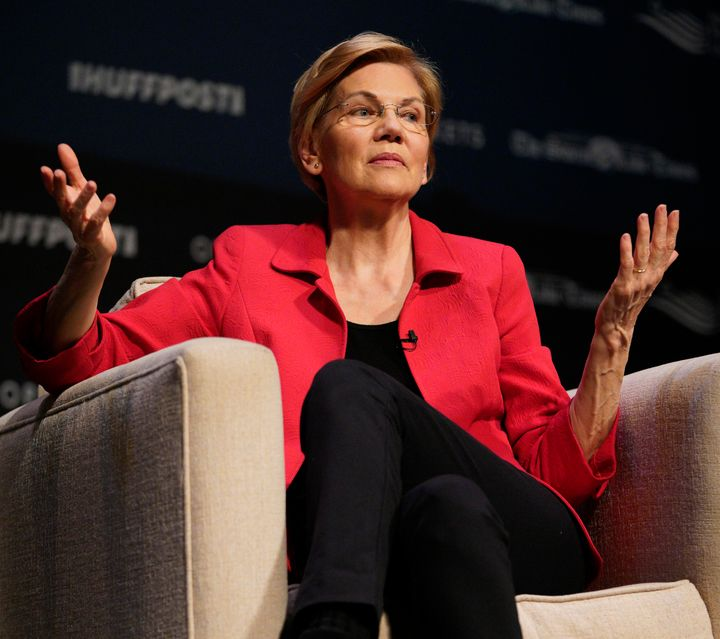 Massachusetts Sen. Elizabeth Warren wouldn't say during a forum Saturday if she believed incarcerated people should be allowe