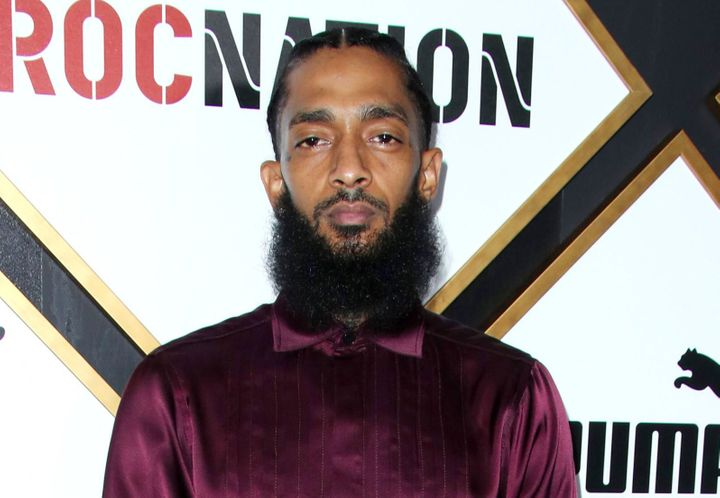 Rapper Nipsey Hussle was reportedly shot several times outside his store, Marathon Clothing, on Sunday.