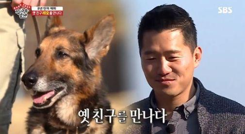 강형욱이 8년 만에 재회한 경찰견 '레오'의 근황을