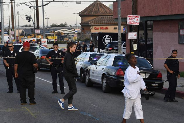 Asesinan a disparos al rapero Nipsey