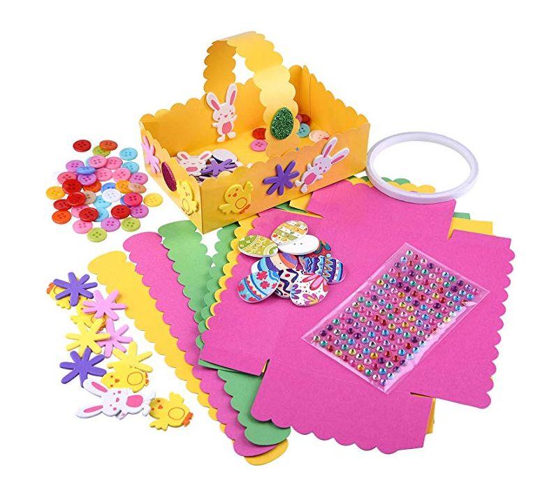 Make Your Own Easter Bonnet Decoration Creative Kit Kids Set Art Craft Gift New