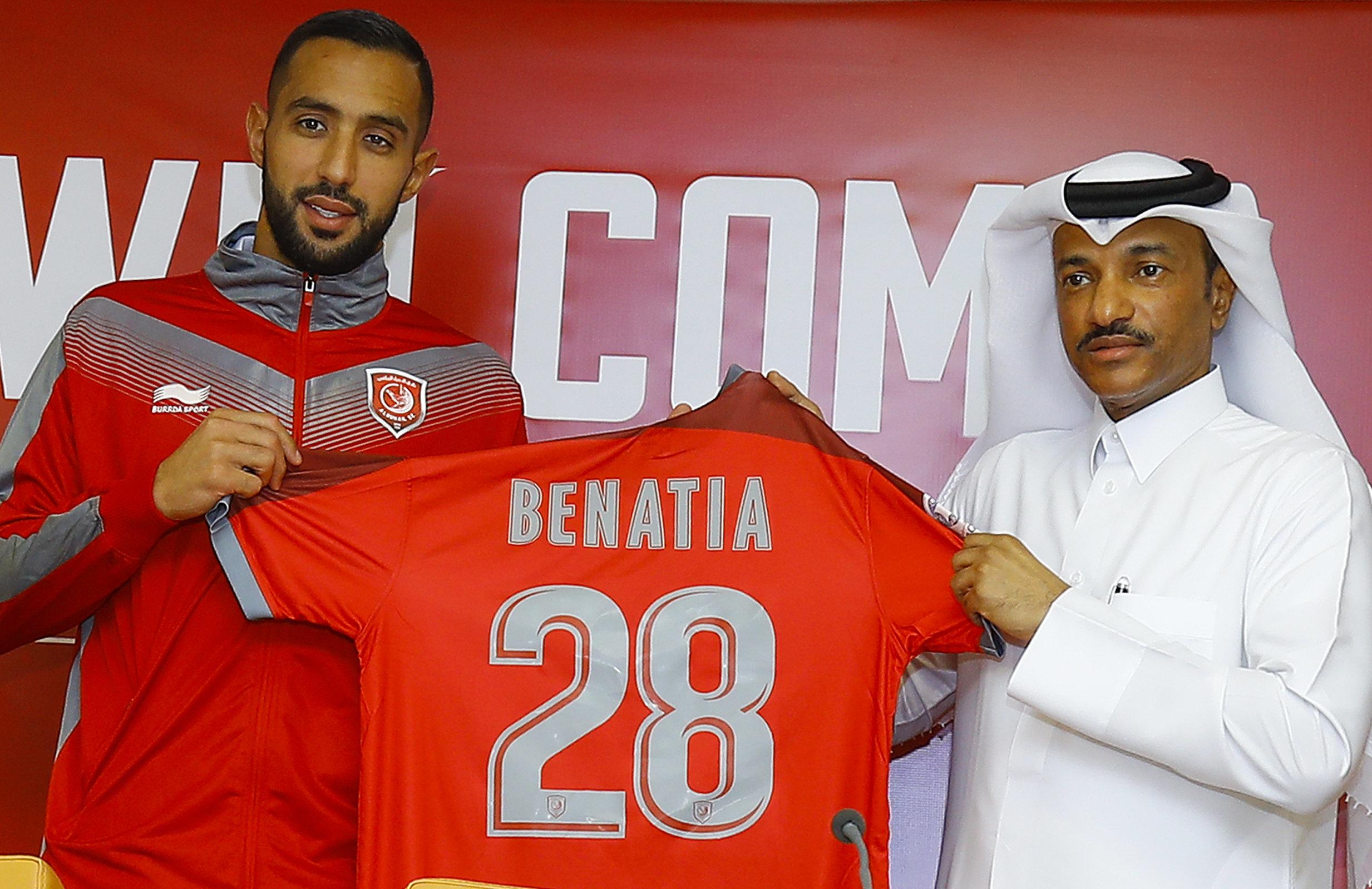 Medhi Benatia au Qatar: