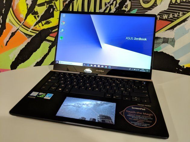 le Zenbook Pro 14 d'Asus permet de configurer l'image du second