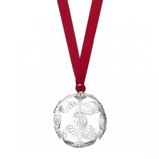 Boule de Noël Montgolfière en métal