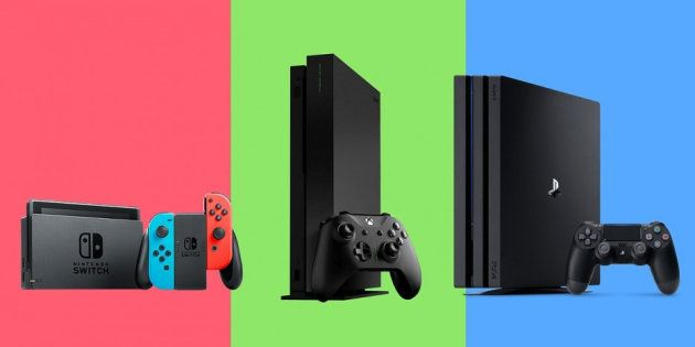 Sony PS4, Microsoft Xbox ou Nintendo Switch, quelle console choisir