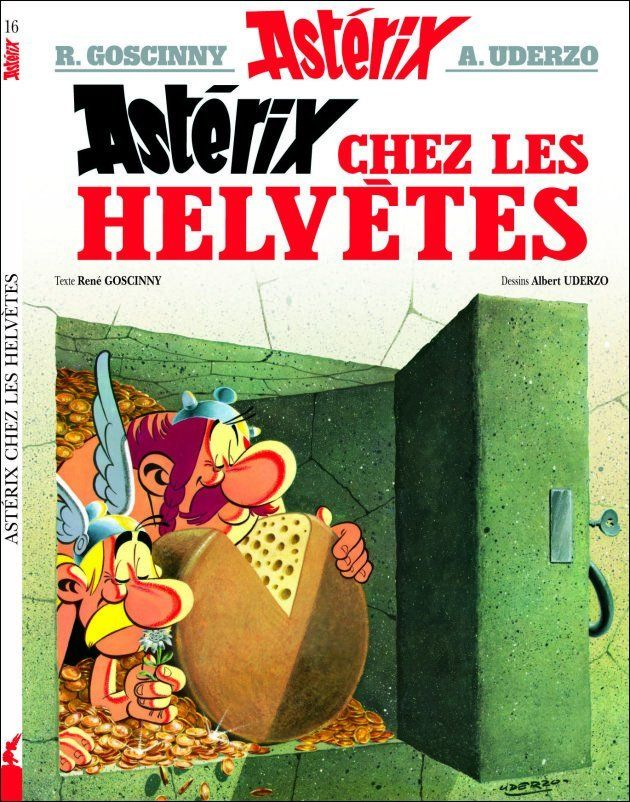 Astérix chez les Helvètes, de René Goscinny (scénario) et Albert Uderzo (dessin), Dargaud