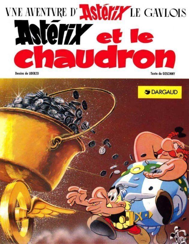 Astérix et le chaudron, de René Goscinny (scénario) et Albert Uderzo (dessin), Dargaud