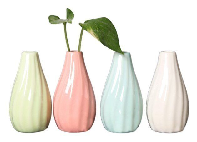 Petits vases pour fleurs