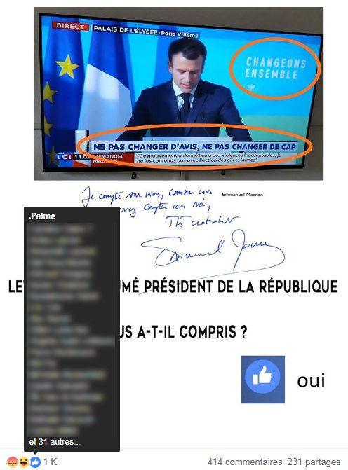 La lettre de Macron aux Français a mis les gilets jaunes