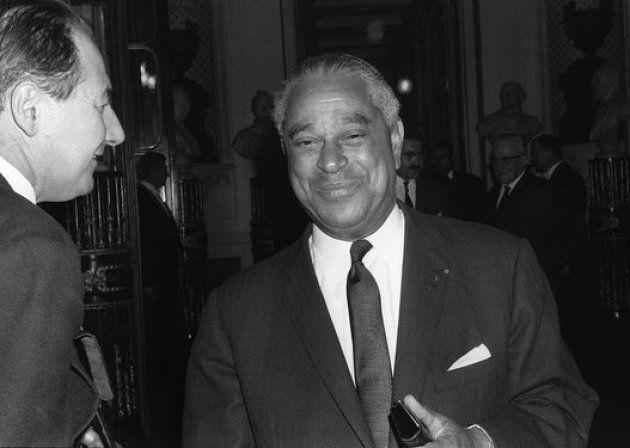 Gaston Monnerville, premier président noir à siéger au Sénat en