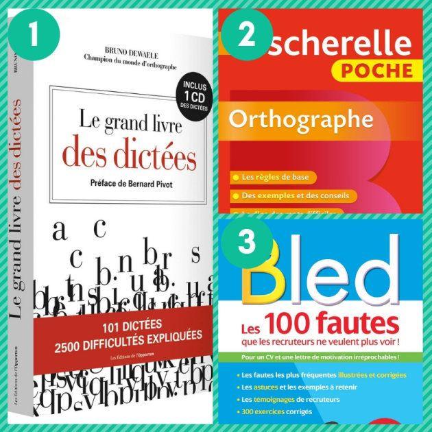 Le Bescherelle et le Bled, deux grands classiques remis au goût du jour pour améliorer son orthographe...