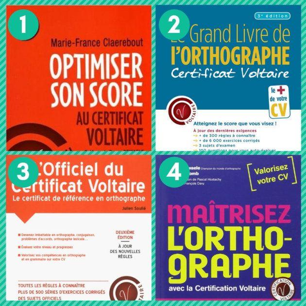 Les ouvrages pour préparer le certificat