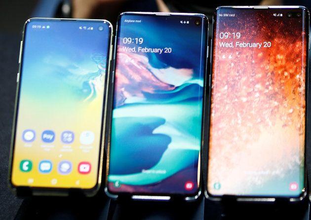 Les Samsung Galaxy S10, S10 Plus et