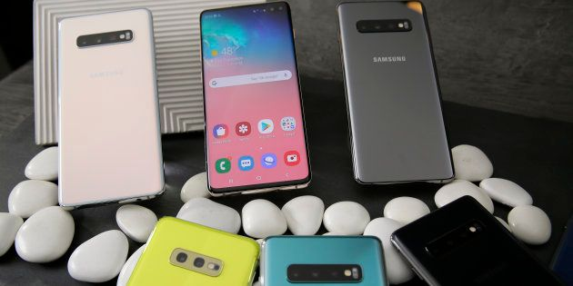 Samsung a dévoilé sa nouvelle ligne de smartphones, les Galaxy S10, S10 Plus et