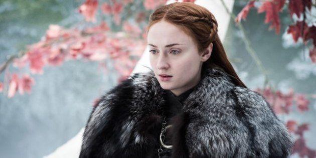 Pour cette huitième et ultime saison, Sansa Stark portera une armure pour affronter l'armée des