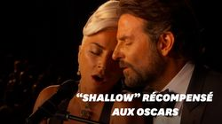 Lady Gaga et Bradley Cooper chantent