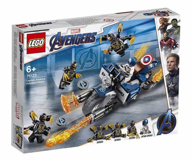 Les boîtes de Lego, plus gros risque de spoiler pour le film