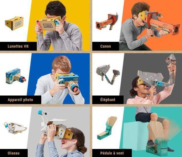 Avec ce kit VR de Nintendo Labo, la firme japonaise vise surtout un public
