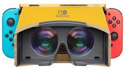 Nintendo va proposer un casque VR en carton pour la