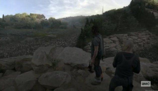 Alpha fait part à Daryl de ses